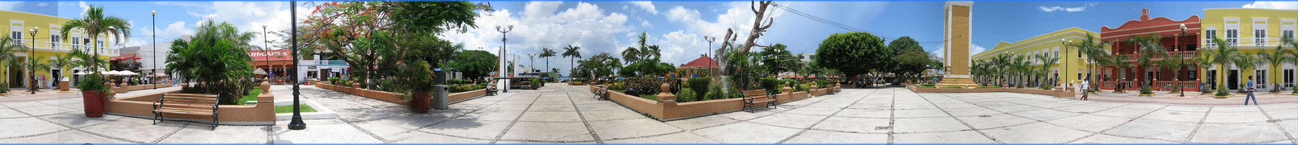 Cozumel Downtown Plaza
